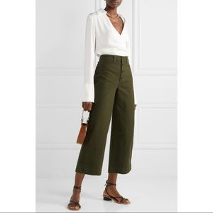Madewell Emmett Wide Leg Crop Pants, Sz 26